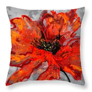 Poppy 41 Throw Pillow