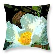 Poppy 5 Throw Pillow