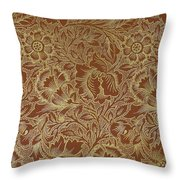 Poppy Design 1880 Throw Pillow