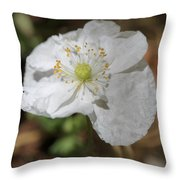 Poppy From The Angel's Choir Mix Throw Pillow