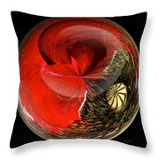 Poppy Globe Throw Pillow