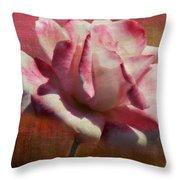 Poppy Rose Throw Pillow