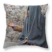 Por Favor Throw Pillow