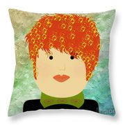Porcelain Doll 13   Throw Pillow