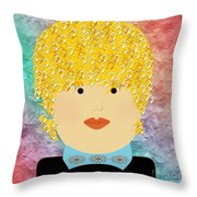 Porcelain Doll 6 Throw Pillow