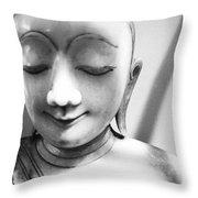 Porcelain Statuette Throw Pillow