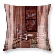 Porch - Dreaming Throw Pillow
