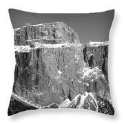Pordoi Joch - Italy Throw Pillow
