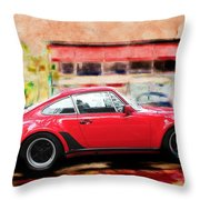 Porsche Series 01 Throw Pillow