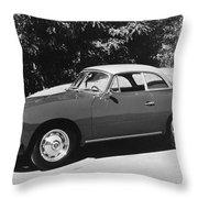 Porsche 356 Hardtop Throw Pillow