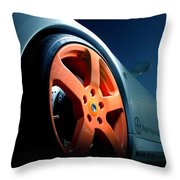 Porsche 5 Throw Pillow