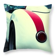 Porsche 550 Throw Pillow
