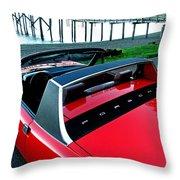 Porsche 914 II Throw Pillow