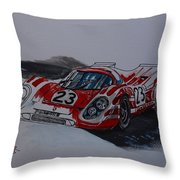 Porsche 917  Throw Pillow