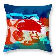 Porsche 917 Racing 1 Throw Pillow