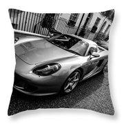 Porsche Carrera Gt Throw Pillow
