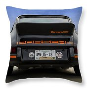 Porsche Carrera Rsr Throw Pillow
