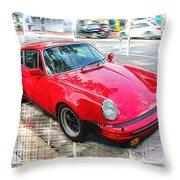 Porsche Series 02 Throw Pillow