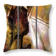Porsche Triptych Throw Pillow