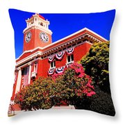 Port Angeles Throw Pillow