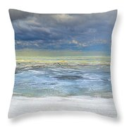 Port Austin 1st Day Of Spring Throw Pillow