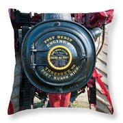 Port Huron Tractor Throw Pillow