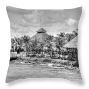 Port Of Call Throw Pillow