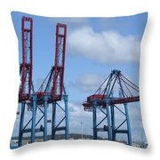 port of Gothenburg Throw Pillow