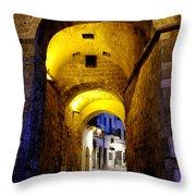 Porta Alfonsina Throw Pillow
