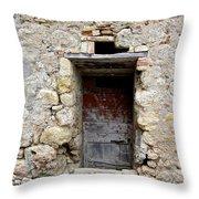 Porta Rossa Throw Pillow