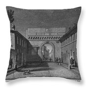 Porta Settimiana Throw Pillow