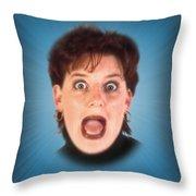 Portal Throw Pillow by Clif Jackson