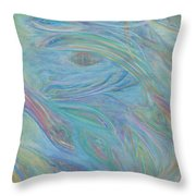 Portal In Belize Reef Throw Pillow