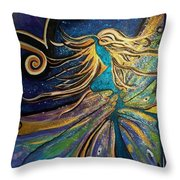 Portal Of The Divine Throw Pillow