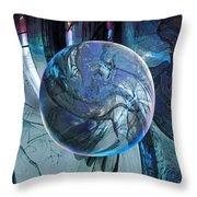 Portal To Divinity Throw Pillow