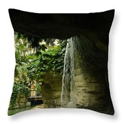 Portal To Nature Throw Pillow