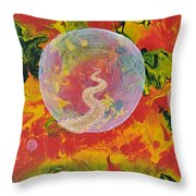 Portals And Dimensions Throw Pillow