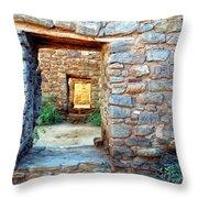 Portals Throw Pillow