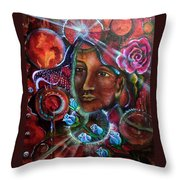 Portals Of Change Throw Pillow
