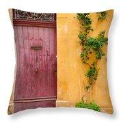 Porte Rouge Throw Pillow