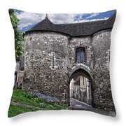 Porte Saint-jean Throw Pillow