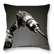 Porter-cable Drill Throw Pillow