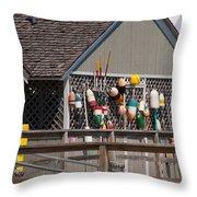 Porter Landing 0148a Throw Pillow