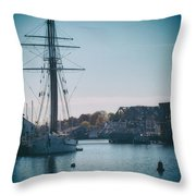 Porthole Perspective Throw Pillow