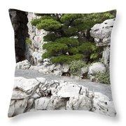 Portland Lan Su Gardens Throw Pillow
