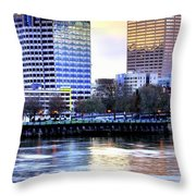 Portland Reflections 22929 Hdr Throw Pillow
