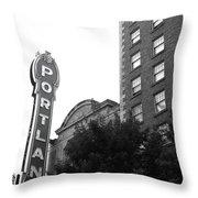 Portlandia Throw Pillow