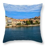 Portoferraio - Elba Island Throw Pillow