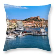 Portoferraio  Throw Pillow