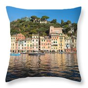 Portofino - Italy Throw Pillow
